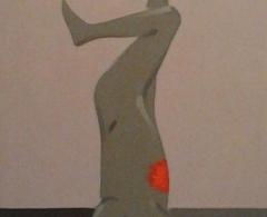 Andrés Rábago. ara0029.  Sacrificio..Óleo sobre lienzo.46 x 33.2012