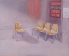 Teresa Moro - tm0054 - Self-Service.Acrílico sobre tela.114 x 146.2010