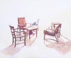TM0144 - Teresa Moro - L. Bourgeois. Salita. Gouache sobre papel. 28,5 x 38,5. 2018