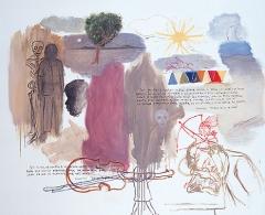 Xisco Mensua - El deseo de ser un indio. 2002. Óleo sobre lienzo. 130 x 162 cm.