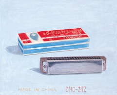 Xisco Mensua - Made in China. 2002. Óleo sobre lienzo. 38 x 46 cm.