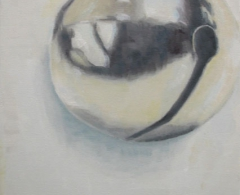 Chema Cobo. cc0077. Placeless voice.Óleo sobre lienzo.55 x 46.2011