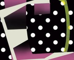 Enrique Larroy - ela0016 - Perlas de imitación I. Técnica mixta sobre papel.50 x 35.2005