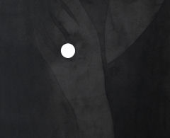 Fernando Martín Godoy - Enjoyada.  2014. Tinta china sobre papel Montva. 27 x 36 cm. FMG0159