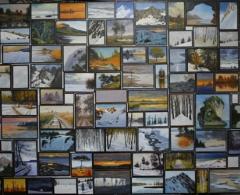 Juan Angel G. de la Calle - jg0105 - Gallery. Óleo sobre lienzo. 130 x 195. 2008