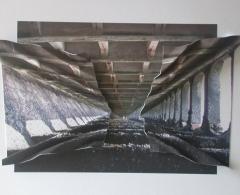 JMM0055 -  Juan Martínez Moro. Muellear # 9. Impresión en papel montada/aluminio. 29 x 38 x 4. 2010