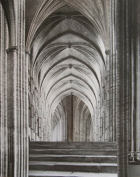 FMG0216 - Fernando Martín Godoy. Infinite Cathedrals XI. Collage sobre papel. 29,2 x 21,2. 2016