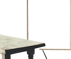 HI0011 - HISAE IKENAGA. Serie ONLY WOOD. Papel de revista recortado, metracrilato 45 x 34 x 3. 2016