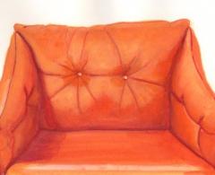 Teresa Moro - tm0070 - Retrato asiento 5.Gouache sobre papel.13 x 20,5.2011