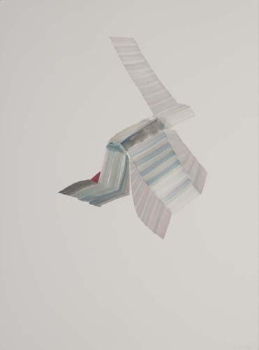 Vicky Uslé - vu0115 - Sin título.Óleo sobre papel.77 x 57.2013
