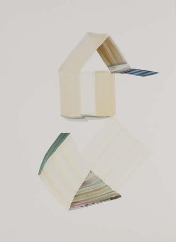 Vicky Uslé - vu0119 - Sin título.Óleo sobre papel.77 x 57.2013