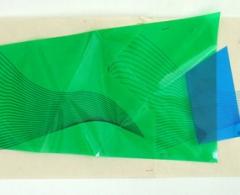 Xesús Vázquez -xv0036 - Shoah. Collage y plexiglas. 30 x 71,5 x 3. 2005