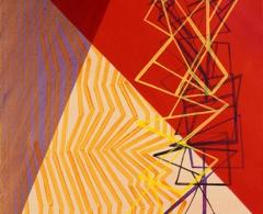 Xesús Vázquez -xv0045 - Lager XLI. Acrílico sobre lienzo. 73 x 60. 2004